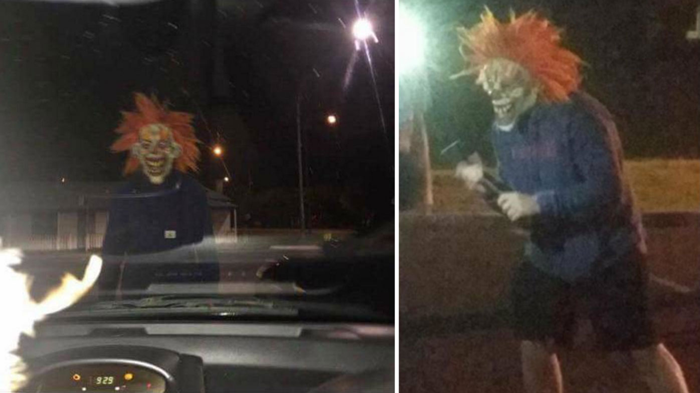 Menacing clown sightings reported in Australia