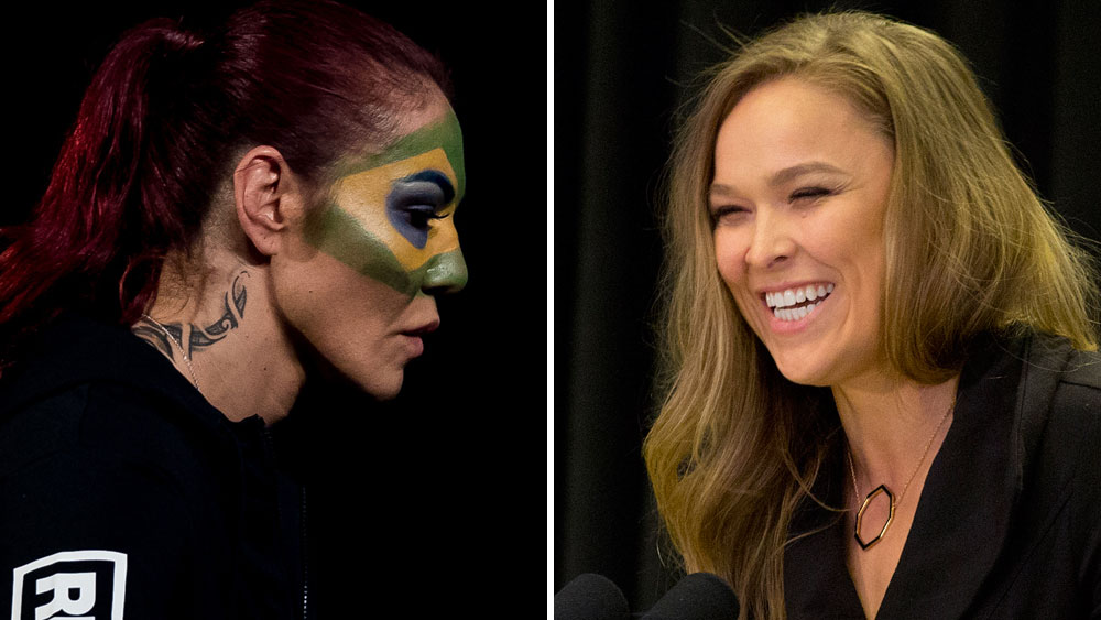 Cris Cyborg says she will leave Rousey 'requiring surgery'