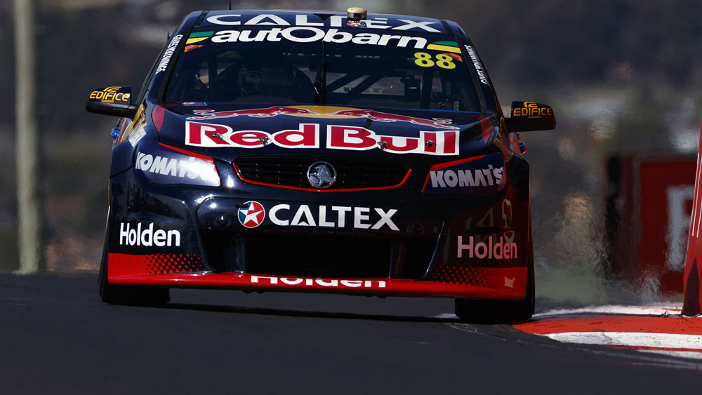 Whincup on pole for Bathurst 1000