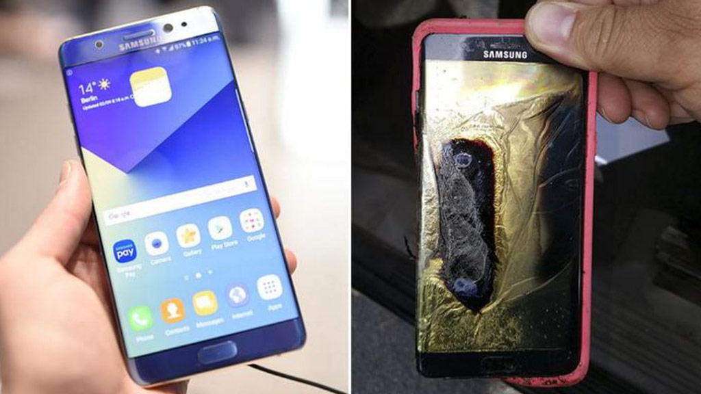 Samsung 'fire risk' smartphone banned on four Australian airlines