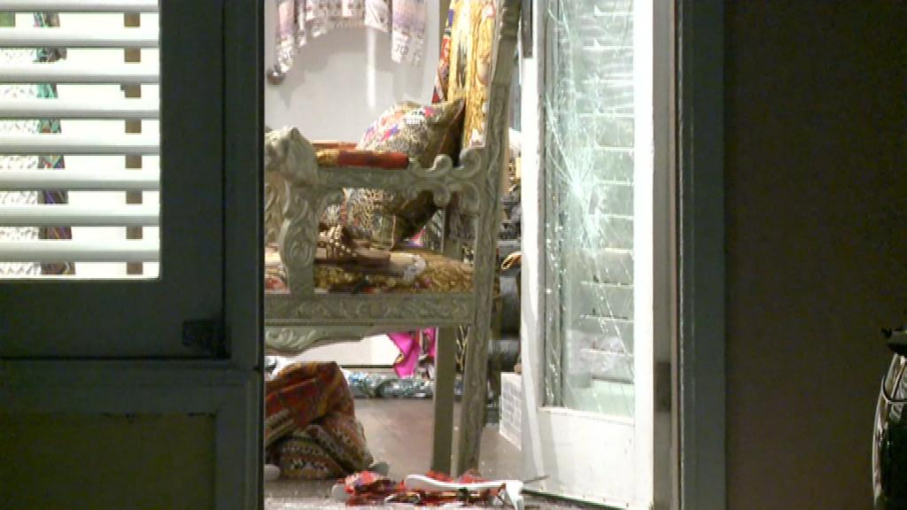 Camilla's kaftan shop robbed at Bondi