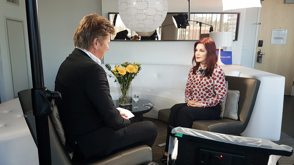 Richard Wilkins speaks with Priscilla Presley ahead of the release of a new compilation album and upcoming tour.