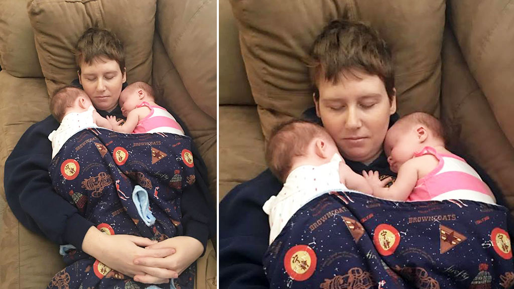 Mum claims getting pregnant cured her chronic migraines