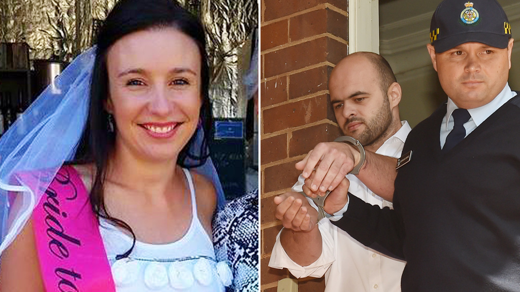 Stephanie Scott (L) and right, her killer Vincent Stanford. (AAP)