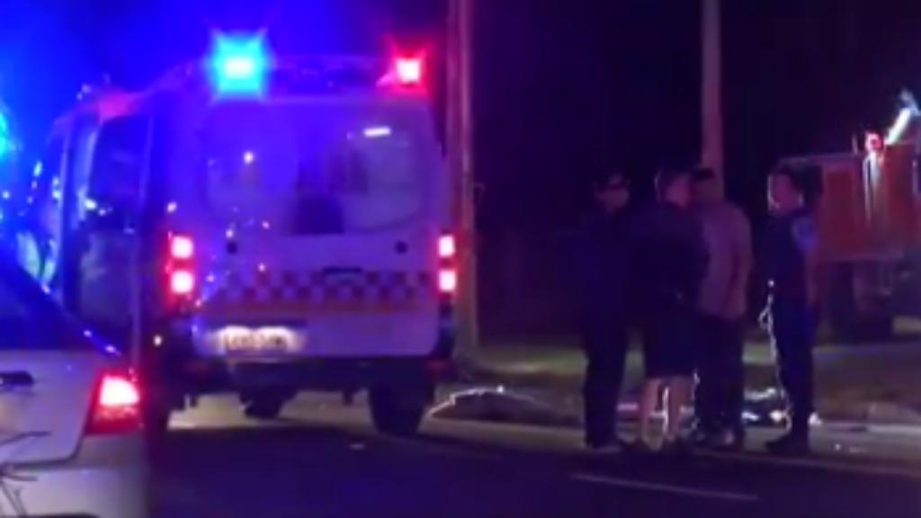 Pedestrian dies after being hit by car on regional road in NSW