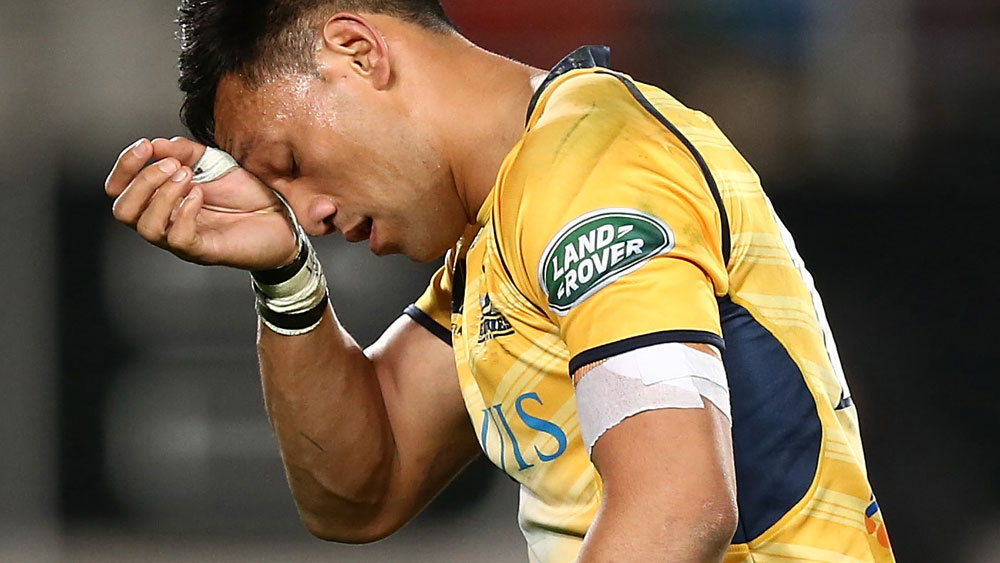 Christian Lealiifano will undergo a bone marrow transplant. (AAP)