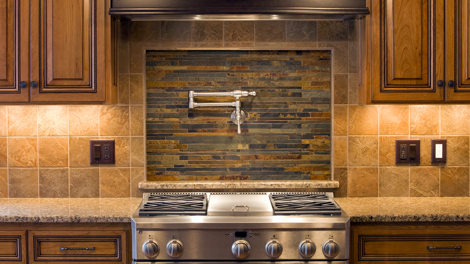 Using Tile To Update Your Kitchen Founterior