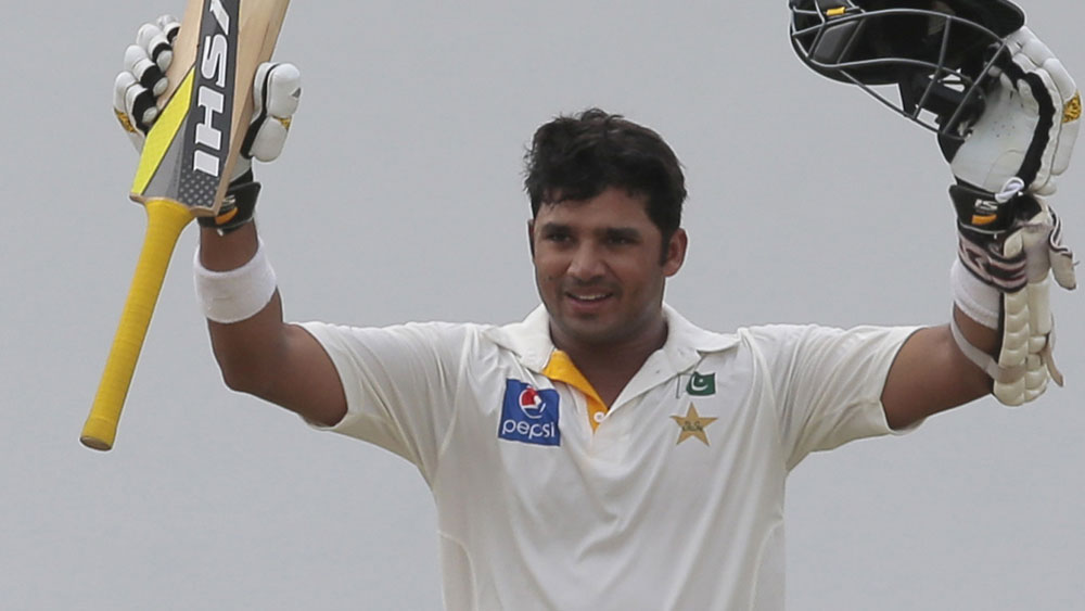 Azhar, Sami give Pakistan solid start in first Test