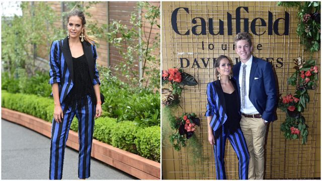 In pictures: Racegoers dress to impress at the 2016 Caulfield Cup