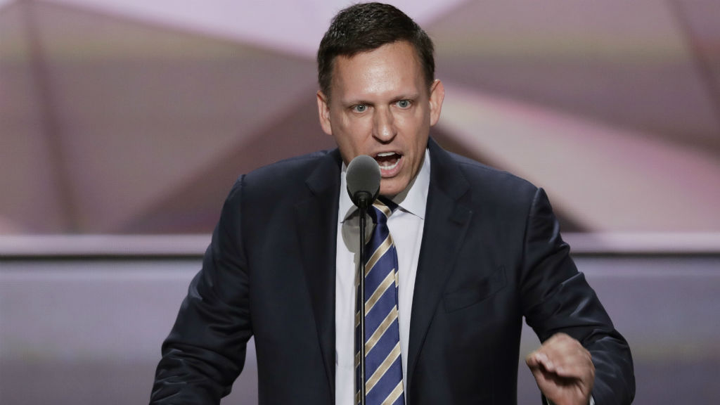 Tech billionaire Peter Thiel 'to donate $1.64 million' to Donald Trump's campaign