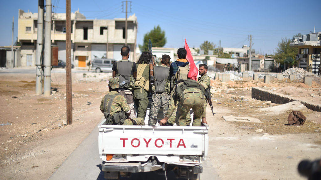 Significant win for Syrian rebels as ISIS stronghold of Dabiq captured