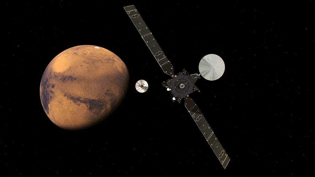 Mars lander feared destroyed after it vanishes during descent
