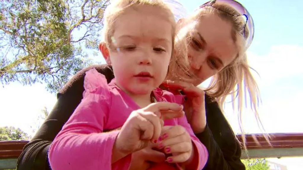 Geelong mother traumatised after two-year-old pricked by dirty syringe in public toilet