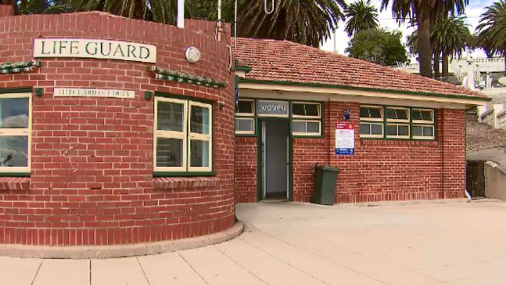 The public toilet block did not have a safety deposit box inside. (9NEWS)