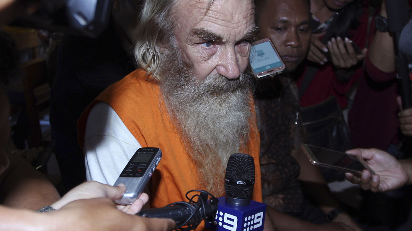 Elderly Australian accused of abusing girls in Bali doesn't think he deserves jail