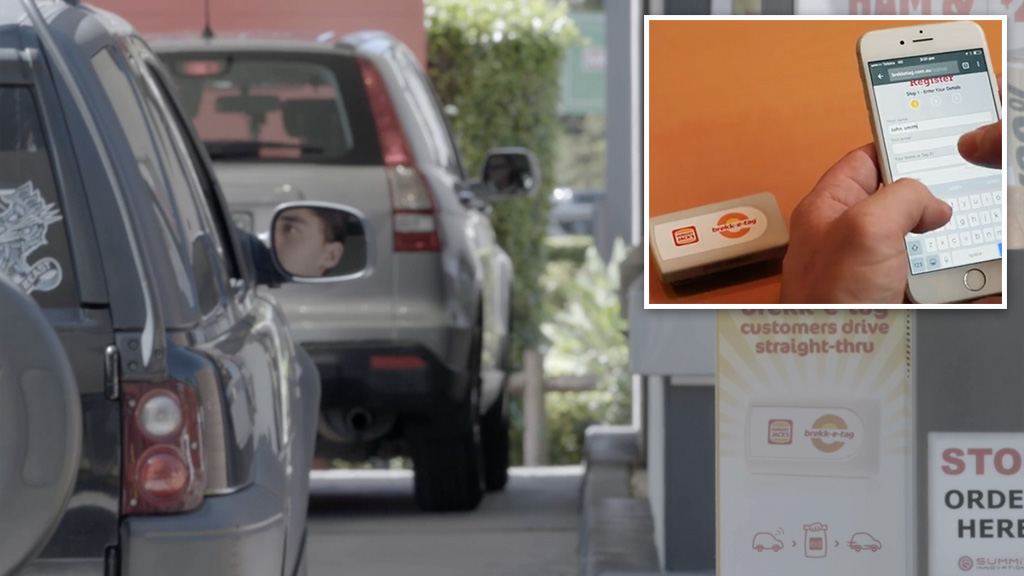 Hungry Jack's launches new drive-thru technology.
