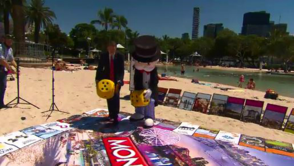 Brisbane landmarks appear on new Monopoly board