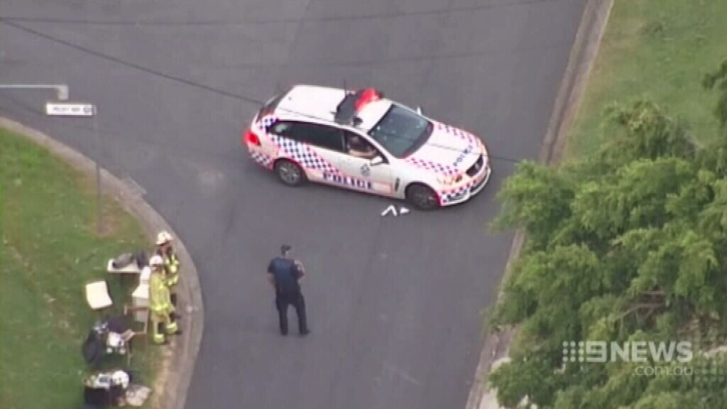 Queensland siege ends, but man who 'doused home with petrol' missing