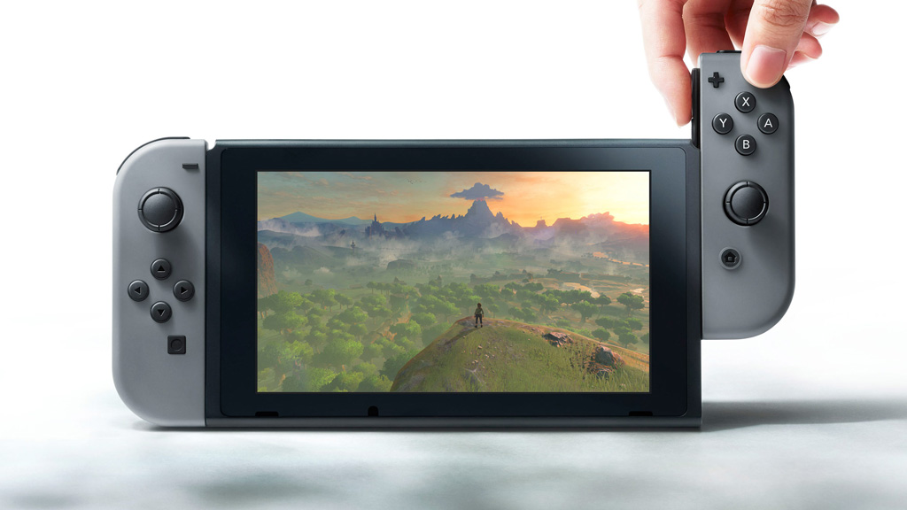 Nintendo's new portable gaming console, Nintendo Switch. (Nintendo)