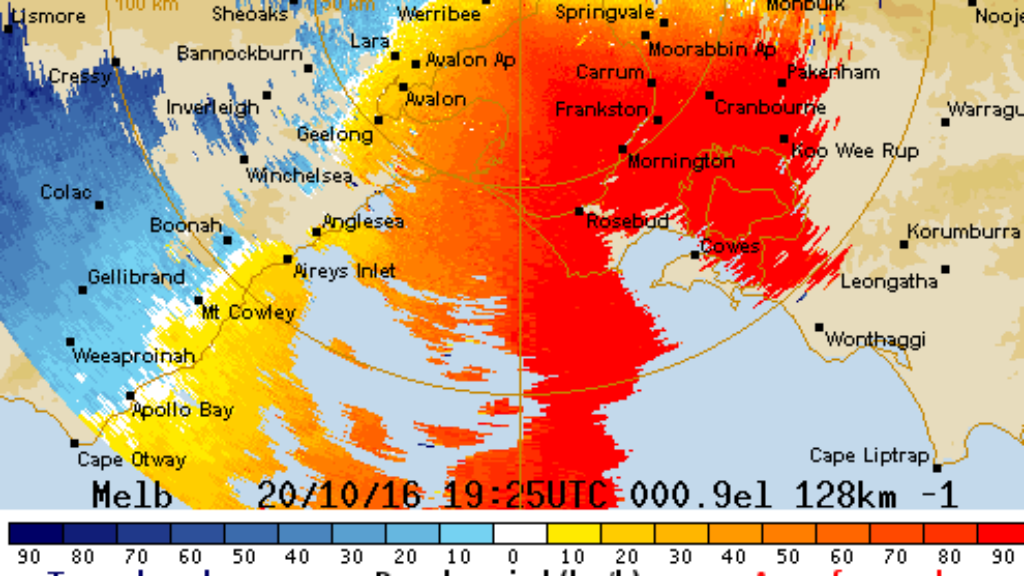 Victoria rattled by a night of wild winds