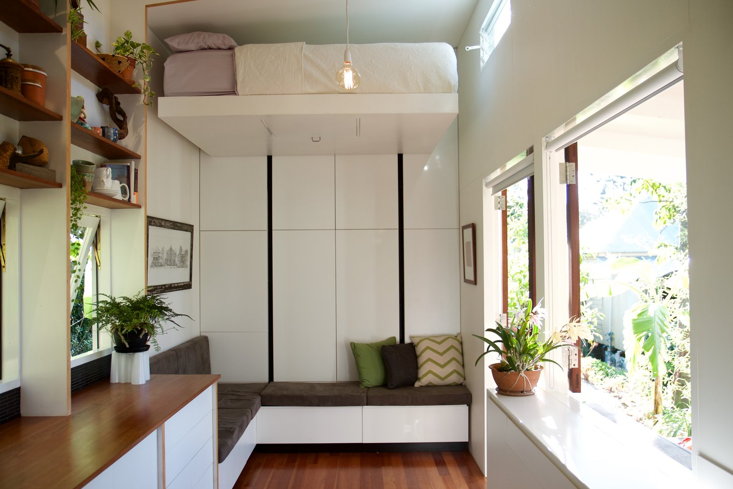 take a tour of the young brisbane couple 39 s tiny home