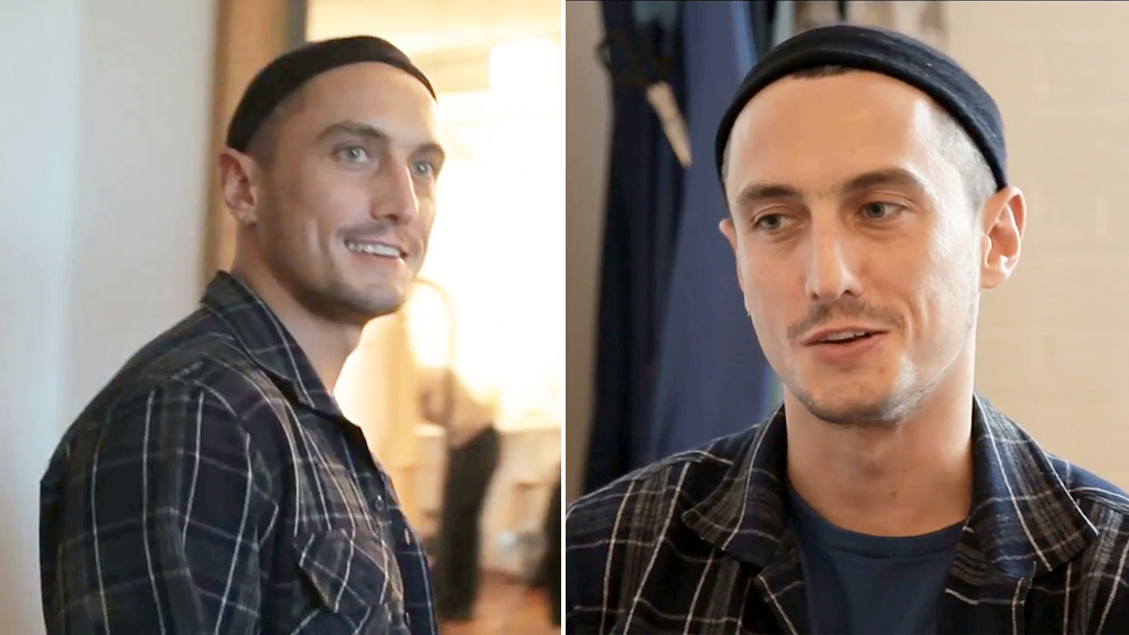 Richard Nicoll appeared in an online fashion segment featuring his work back in 2013. (YouTube/Crane.tv)