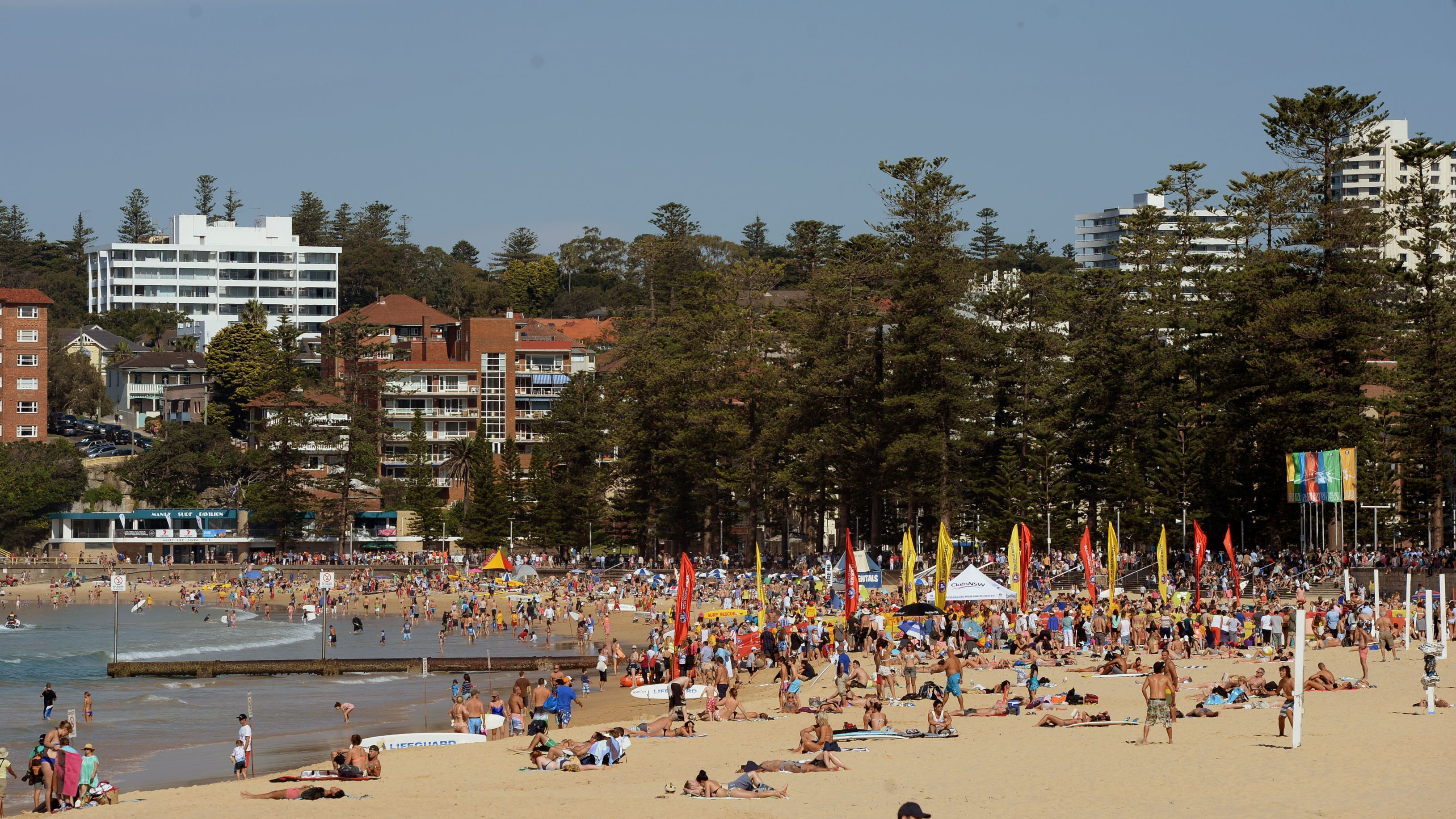 Surf webcams hacked and aimed at sunbathing women at Manly beach