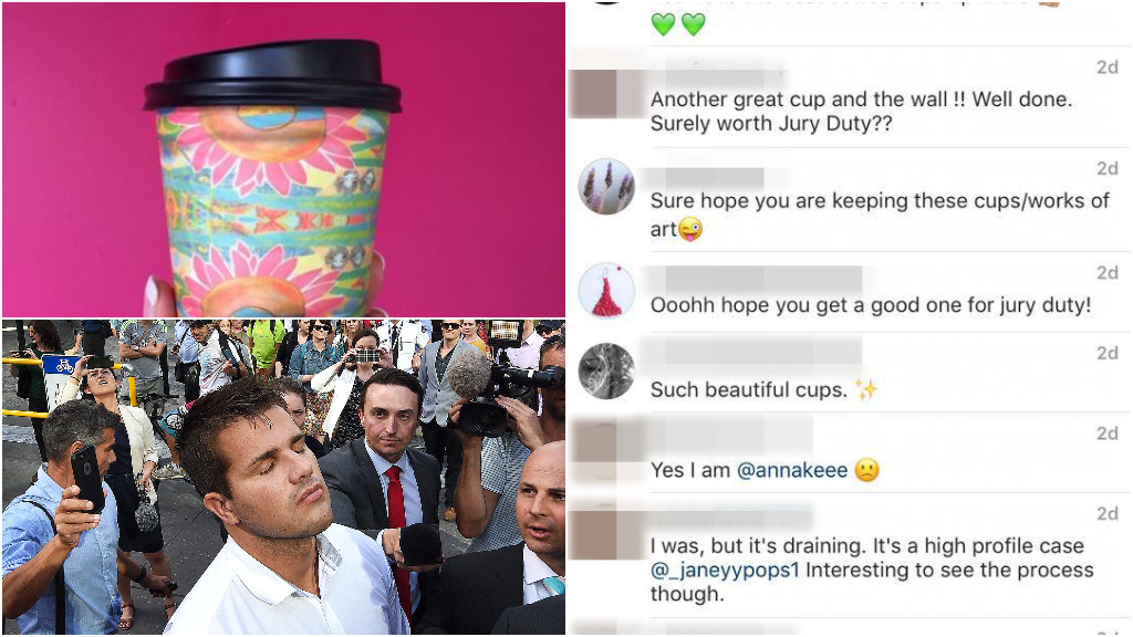 Instagramming Tostee juror sparks calls for phone bans during trials