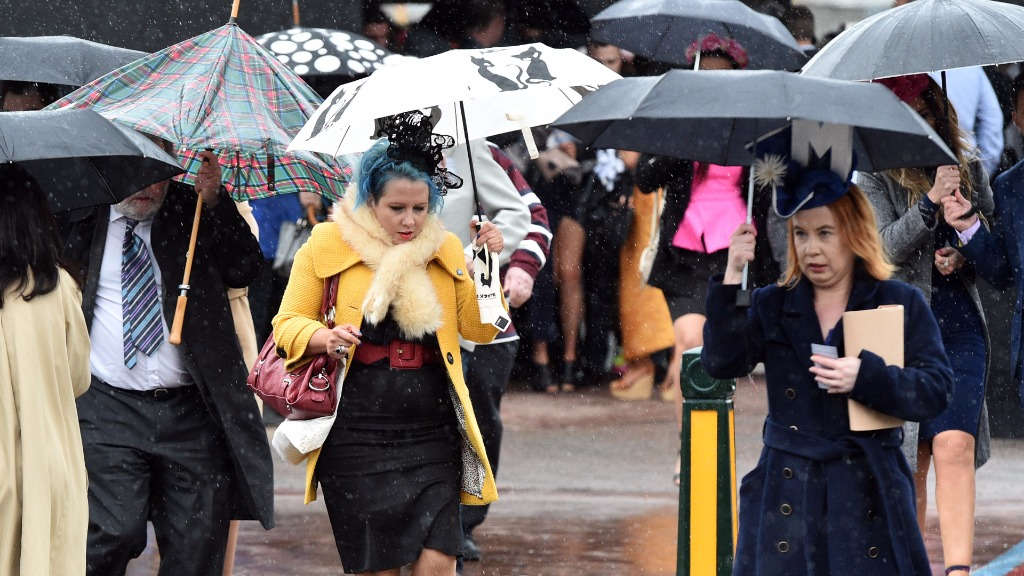 Coldest Cox Plate in history set to chill racegoers
