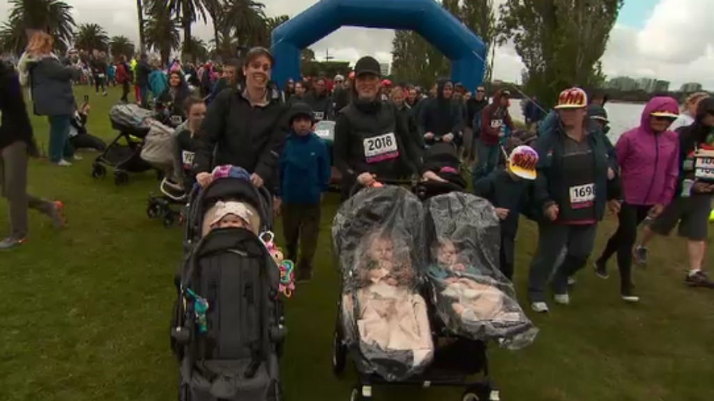 Walk for Prems: Thousands stroll to support premature babies