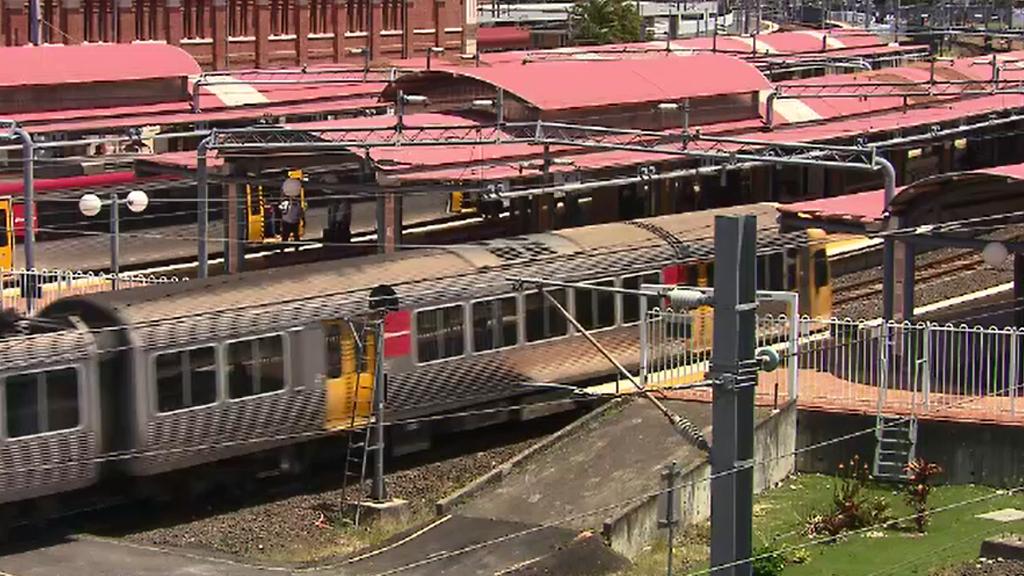 Brisbane trains. (9NEWS)