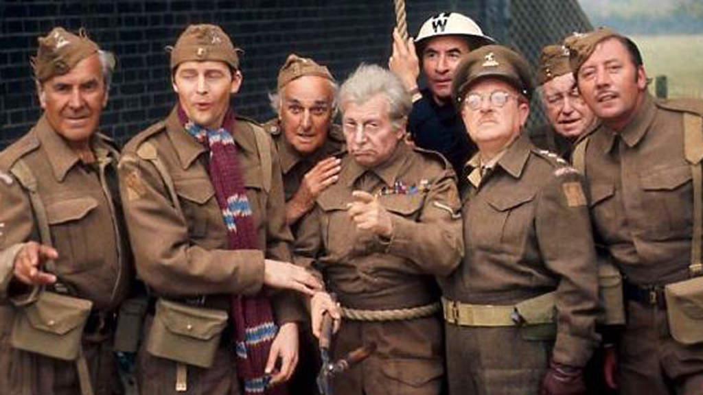 Jimmy Perry co-wrote Dad's Army.