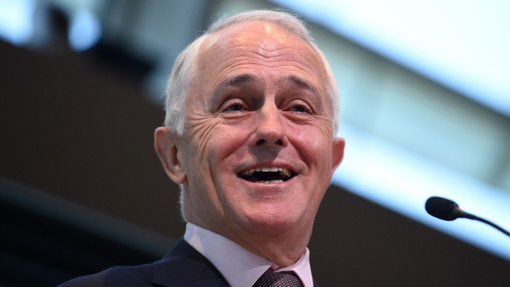 Malcolm Turnbull spends birthday at Pink Ribbon breakfast