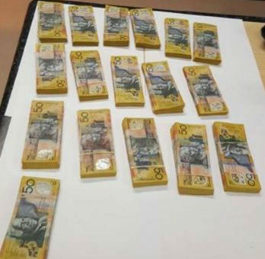 The full haul. (NSW police)
