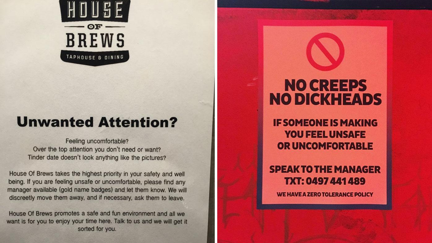 Aussie pubs use secret codes to help women stay safe