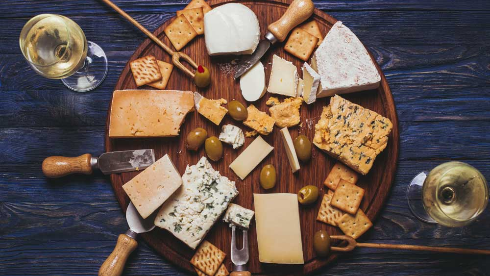 Why cheese and wine go so well together