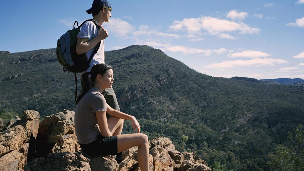 Flinders Ranges in South Australia.