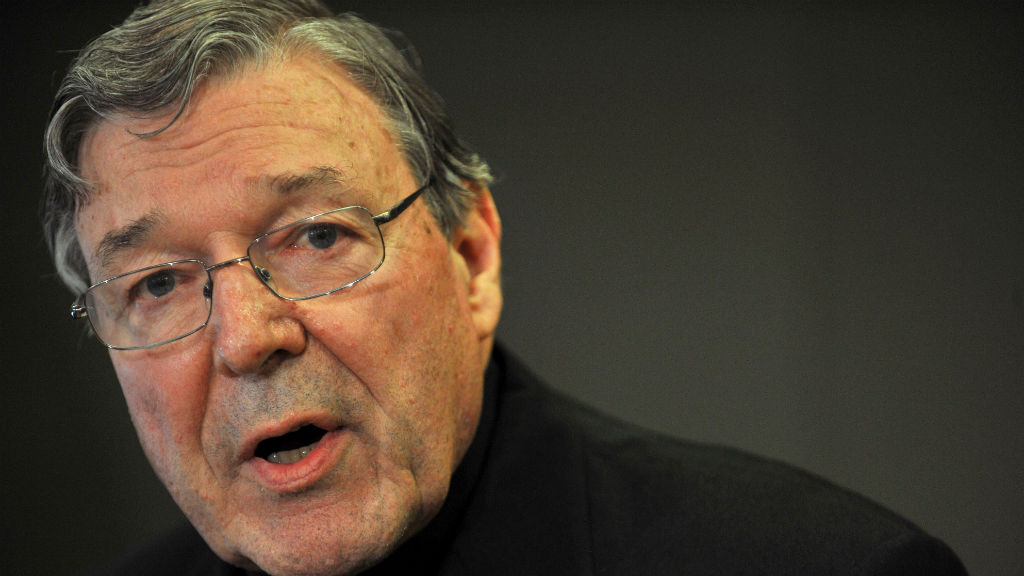 Cardinal George Pell interviewed by Vic Police in Rome over sexual assault allegations