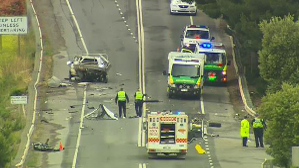 Man killed and another critically injured in two-car Adelaide crash
