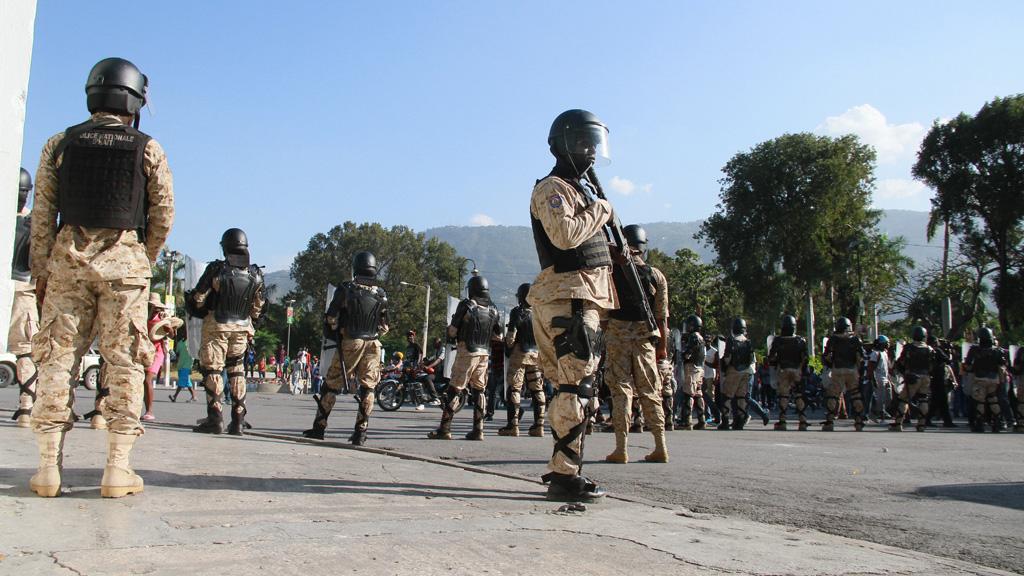 Teenage girl shot dead in Haiti as she waited for humanitarian aid