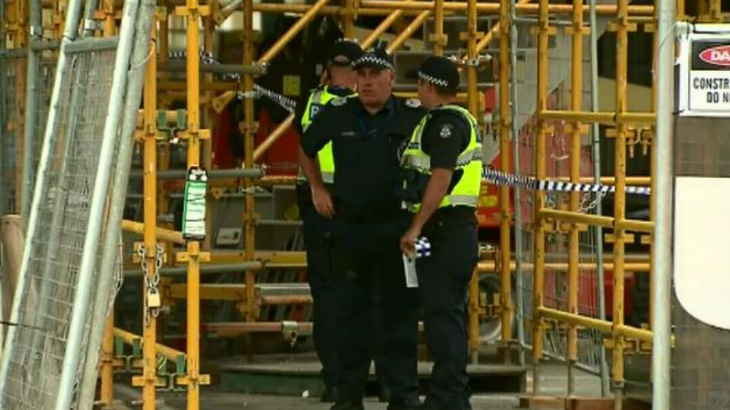 Man dies in industrial accident at Melbourne's South Wharf
