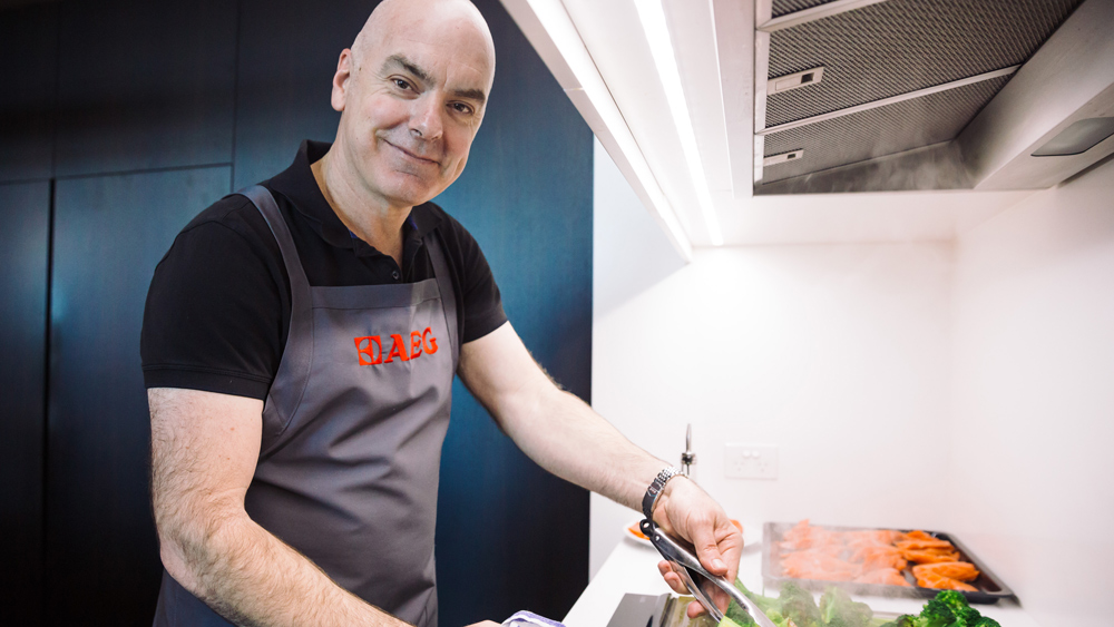 AEG ambassador chef Mark Best