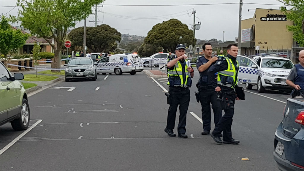 Man shot by police officers in Dandenong