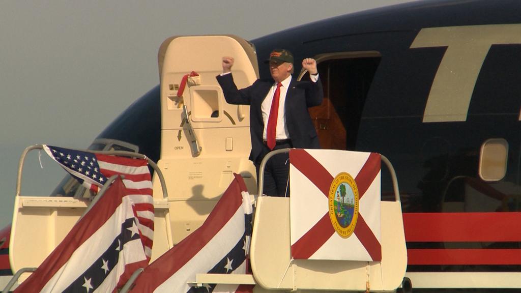 Republican presidential candidate Donald Trump. (Laura Turner/9NEWS)