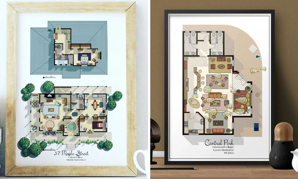 Here's What The Floorplan From Your Favourite TV Show