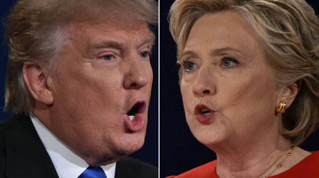 Trump supporters believe Clinton will win.