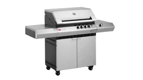 Ziegler & Brown Turbo Elite 4 Burner Barbeque