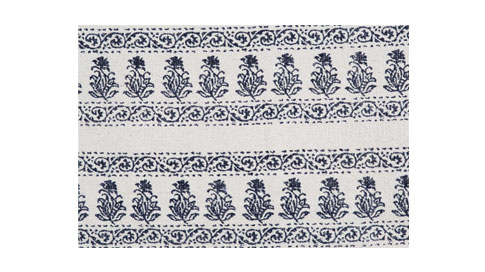 Abella cotton hand-loomed rug, Papaya, $295