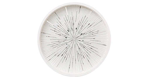 Glass mosaic tray, West Elm, $119
