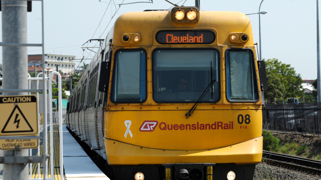 Queensland Rail has launched interim timetables in response to driver shortages. (AAP)